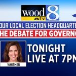 Live stream of the Whitmer, Schuette debate