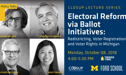Electoral Reform via Ballot Initiatives Panel