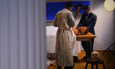 Mario Moore's latest works take a look at how black men rest