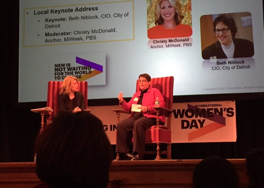Behind the Interview | Christy McDonald talks with City of Detroit CIO, Beth Niblock
