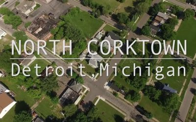What do North Corktown residents think of the changes happening in their neighborhood?