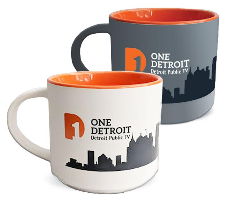 One Detroit mug