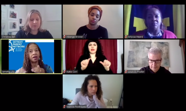 A Detroit community coalition holds its first COVID-19 Virtual Town Hall