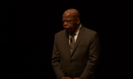 Congressman John Lewis is featured on the Penny Stamps Speaker Series