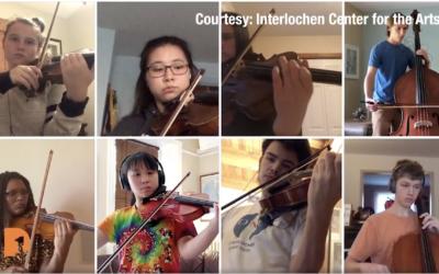Detroit Symphony Orchestra meets Interlochen online