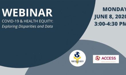 COVID-19 & HEALTH EQUITY: Exploring Disparities and Data Webinar