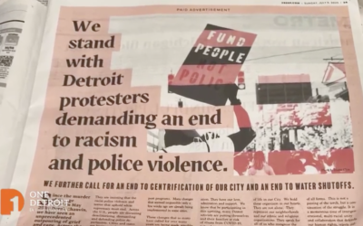 """Black Lives Matter Detroit: """"Our House Is on Fire"""""""