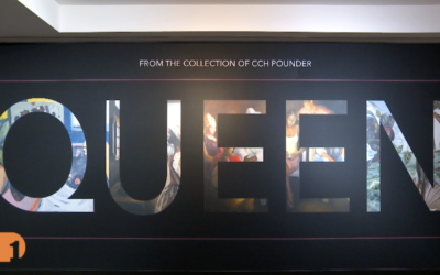 CCH Pounder, Actress and Art Collector