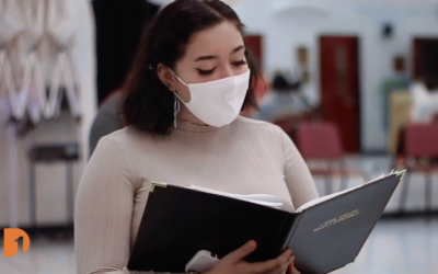 How does a school have choir practice during a global pandemic?