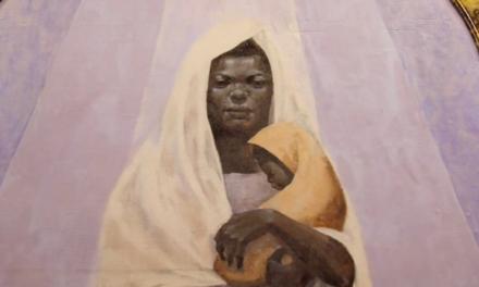 Portrait of the Black Madonna