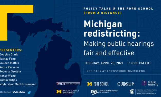 'Communities of Interest' and Michigan's New Redistricting Process